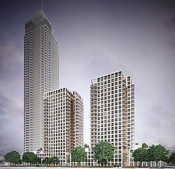 Zalmhaven Toren, vertical photo