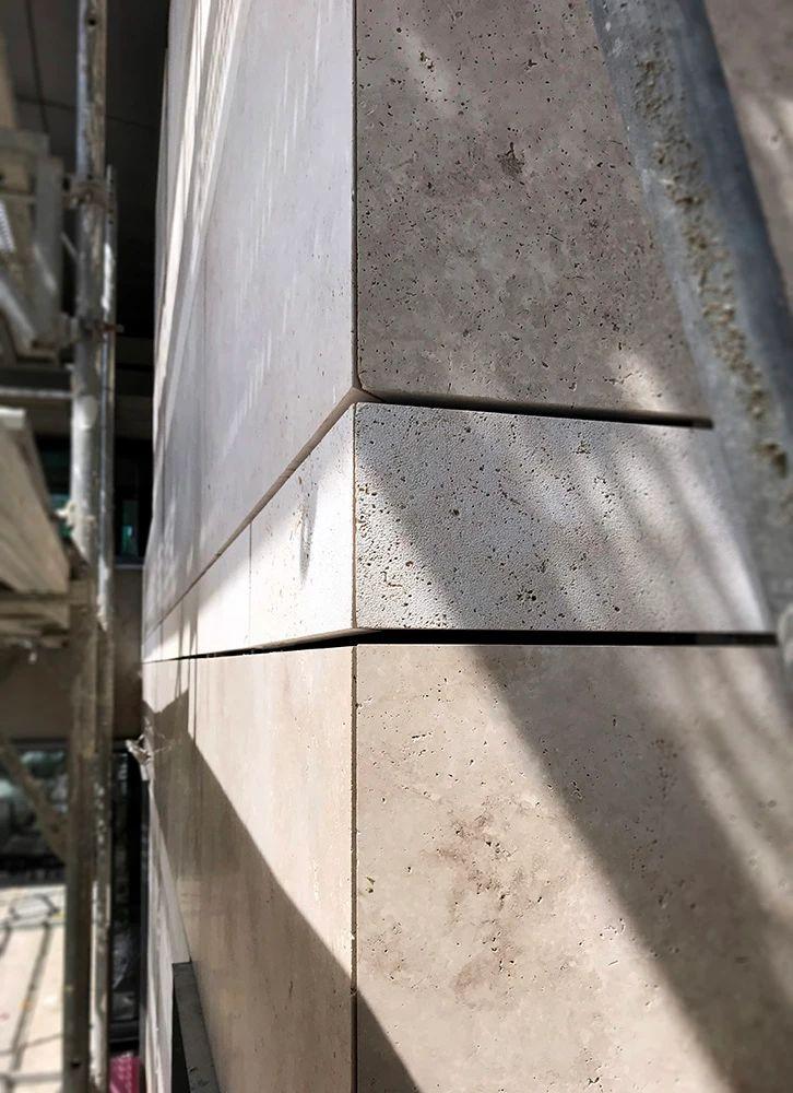 Façade Installation Underway in Berlin, Germany 6