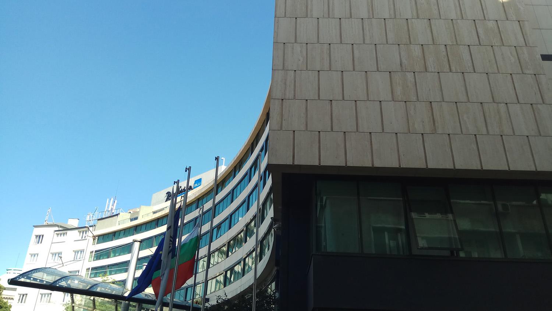Radisson Blue Hotel, built with BILDA rainscreen.