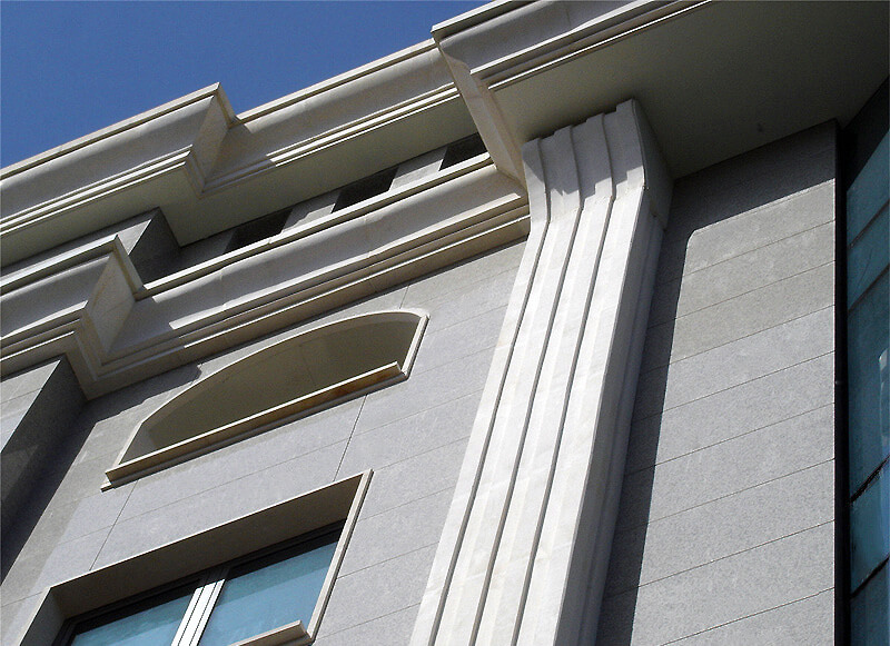 Detail view Business Center 'Vasil Levski' in Sofia, Bulgaria
